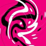 Fond d'abstraction avec courbes illustration de vecteur