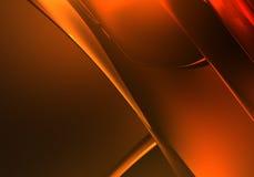 Fond d'or (abstrait) 01 Image libre de droits