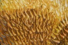 Fond d'or abstrait Image libre de droits