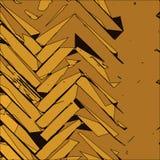 Fond d'or abstrait Photos libres de droits
