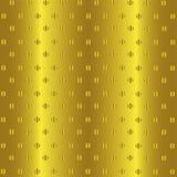 Fond d'or abstrait Configuration de vecteur Photo stock
