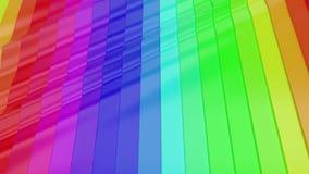 fond 3d abstrait géométrique banque de vidéos