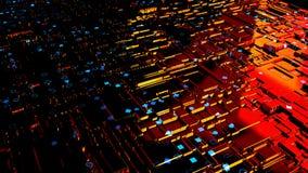 fond 3d abstrait rendez Image stock
