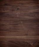 Fond d'acajou en bois foncé de texture Images libres de droits