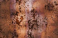 Fond d'acier de rouille Image libre de droits