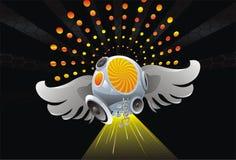 Fond d'acoustique d'art abstrait Image libre de droits