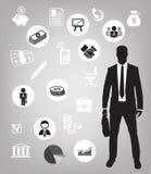 Fond d'affaires illustration libre de droits