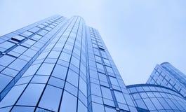 Fond d'affaires d'immeubles de bureaux images stock
