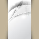 Fond d'affaires de chrome de vecteur Image stock