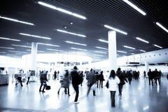 Fond d'affaires de station de métro Photo stock