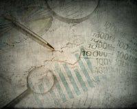Fond d'affaires de vintage image libre de droits