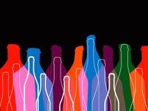 Fond d'alcool Photos libres de droits