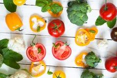 Fond d'aliment biologique photo libre de droits