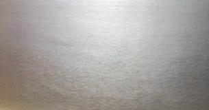 Fond d'aluminium argenté ou ombre de texture et de gradients L'exposé introductif argenté, texture est le scintillement solide af photo stock