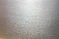 Fond d'aluminium argenté ou ombre de texture et de gradients L'exposé introductif argenté, texture est scintillement solide affli images stock