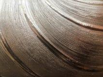 Fond d'aluminium argenté ou ombre de texture et de gradients L'exposé introductif argenté, texture est solide affligé vieux par v photographie stock