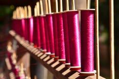 Fond d'amorçages de couture Image libre de droits