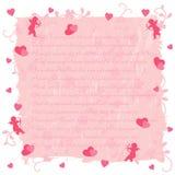 Fond d'amour illustration libre de droits