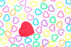 Fond d'amour Images libres de droits