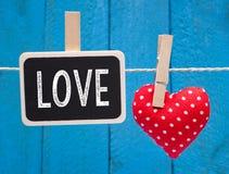 Fond d'amour d'Astract Image libre de droits