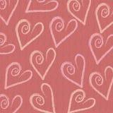 Fond d'amour de coeur Images stock