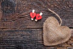 Fond d'amour de jour de valentines avec le copyspace Images libres de droits