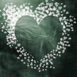 Fond d'amour et de coeurs Photo libre de droits