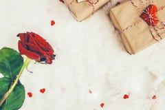 Fond d'amour Jour du `s de Valentine Photographie stock