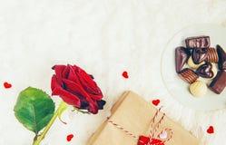 Fond d'amour Jour du `s de Valentine Images stock