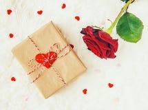 Fond d'amour Jour du `s de Valentine Photo libre de droits
