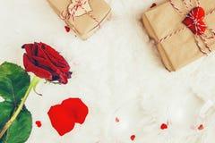 Fond d'amour Jour du `s de Valentine Images libres de droits