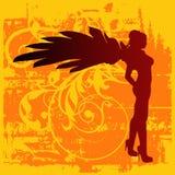 Fond d'ange illustration libre de droits