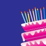 Fond d'anniversaire illustration stock
