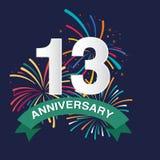 Fond d'anniversaire Images libres de droits