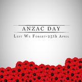 Fond d'Anzac Day illustration stock