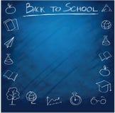 Fond d'approvisionnements d'école Images stock