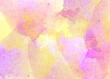 Fond d'aquarelle Image stock