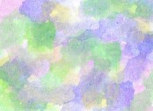 Fond d'aquarelle Photo libre de droits