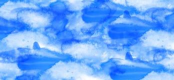 Fond d'aquarelle Images stock