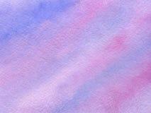 Fond d'aquarelle avec la texture de papier Images stock