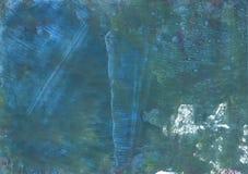 Fond d'aquarelle d'abrégé sur étincelle d'espace lointain Photos libres de droits