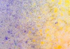 Fond d'aquarelle peint par résumé sur la texture de papier. illustration stock