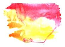Fond d'aquarelle. Vecteur illustration/EPS 10 Image stock