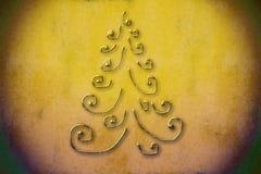 Fond d'arbre de Noël Images libres de droits