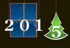 Fond d'arbre de Noël Image libre de droits