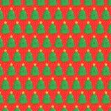 Fond d'arbre de Noël Images stock