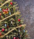 Fond d'arbre de Noël Photo stock