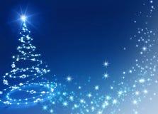 Fond d'arbre de Noël Photos libres de droits