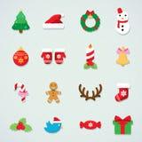 Fond d'arbre de sapin d'icône de Noël illustration libre de droits