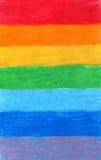 Fond d'arc-en-ciel de couleur de crayon Image stock